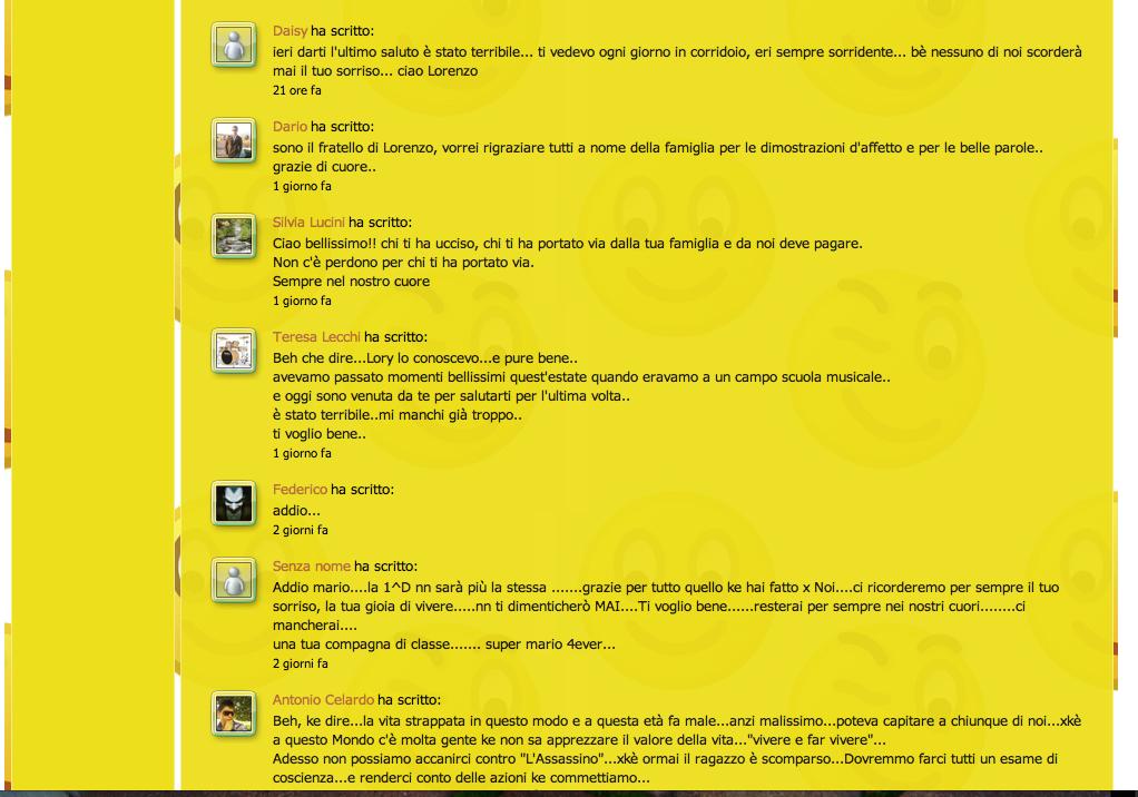 Commenti sul sito Beltrami, pagina 4