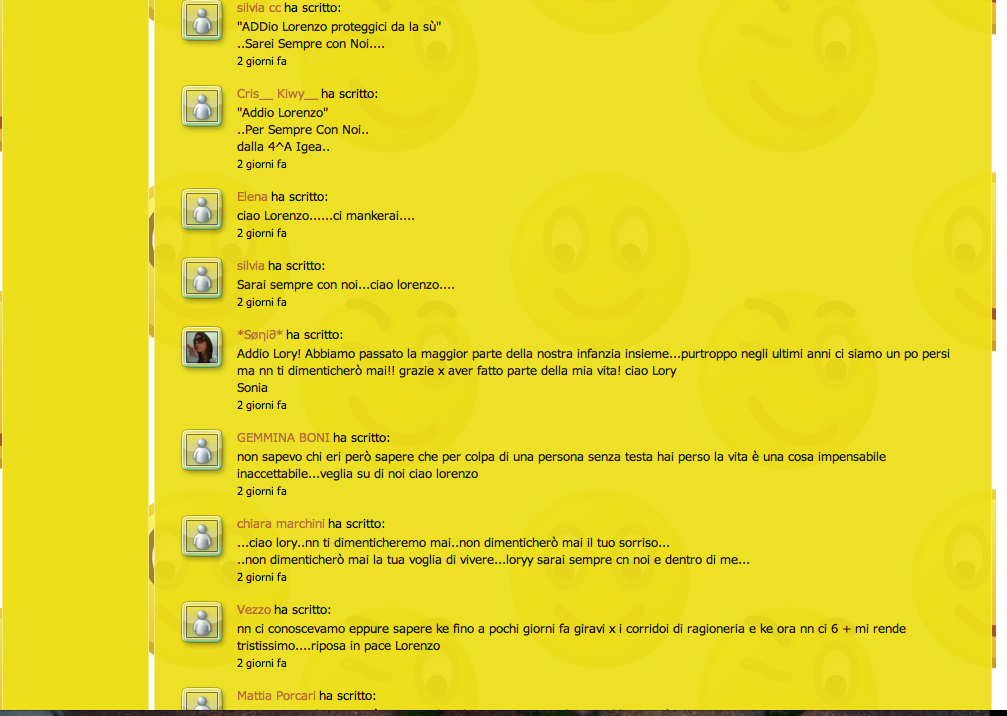 Commenti sul sito Beltrami, pagina 6